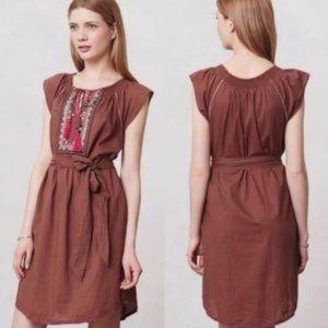 Anthr maeve dress